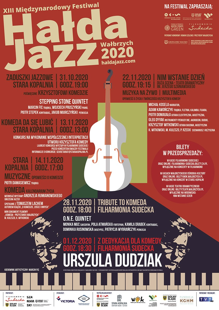 Plakat Hauda Jazz 2020