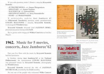 14. Wszelkie prawa zastrzeżone - 2020 Andrzej Rumianowski, Muzeum Jazzu w Warszawie