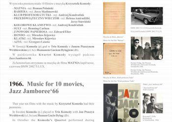 18. Wszelkie prawa zastrzeżone - 2020 Andrzej Rumianowski, Muzeum Jazzu w Warszawie